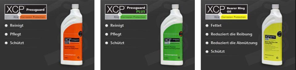 XCP Produktbereich Druckmaschinenschutz